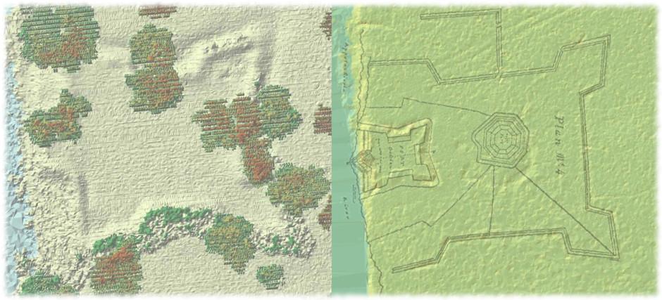 Lidar Analysis of Fort Gadsden
